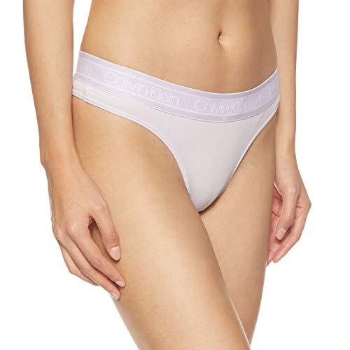 Calvin Klein Damen Thong Tanga, Rosa (Opal PINK 5ZK), 38 (Herstellergröße:M)