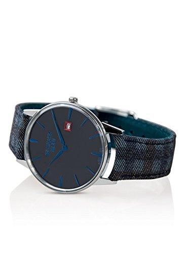 Orologio Watchmaker Ambrogio Solotempo in Acciaio Quadrante Grigio Scuro