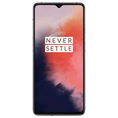 "OnePlus 7T Smartphone Frosted Silver | 6.55""/16,6 cm AMOLED Display 90Hz Power Screen 