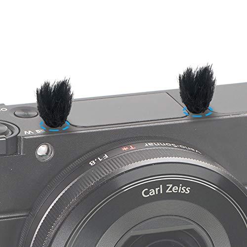 Kamera Mikrofon Windschutz, 10 PCS Fell Wind Muff Windschutz für Sony RX1 RX10 RX100 Digitale Kompaktkameras Eingebautes Mikrofon Außen Windfilter von YOUSHARES