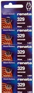 #329 Renata Watch Batteries 10Pcs