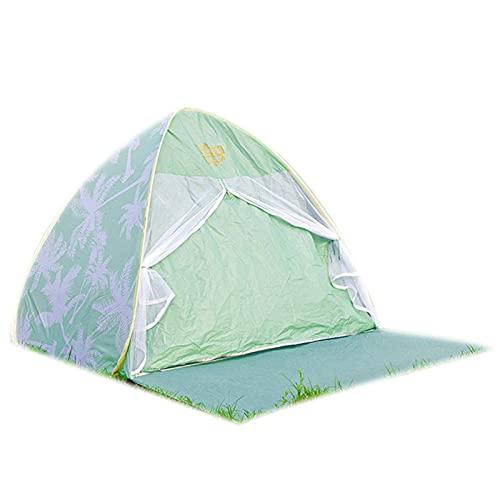 ZCZZ Cúpula Resistente al Sol Refugios para mochileros, Carpa Carpa de Playa para 1-2 Hombres, 165 * 120 * 120 cm, Fácil emergente Camping Senderismo Pesca Nueva Carpa