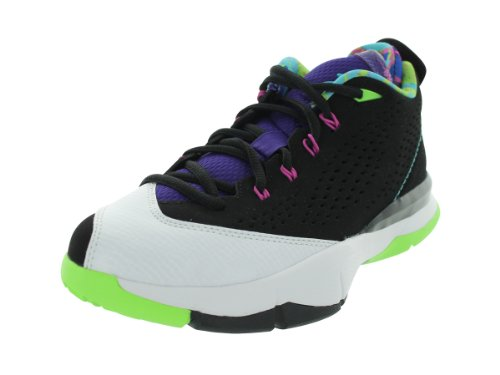Nike Jordan Cp3.VII (GS) Nero/Gamma Blu/Bianco/FLSH Lm Pallacanestro Shoe5 Siamo