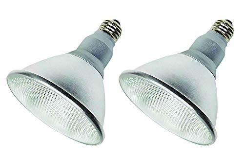 (Pack of 2) K21471 LED PAR38/FL 120V - 18 Watt High Output (100W Replacement) PAR38 Flood - 120 Volt - LED Light Bulbs Indoor & Outdoor Use 3000K (Soft...