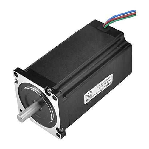 RTELLIGENT Bipolar Nema 23 Stepper Motor 4A 1.8 Deg 3Nm Digital Stepping Motor Low Noise for 3D Printer/Laser/CNC Machine