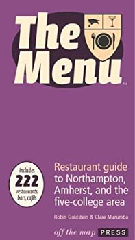 The Menu: Northampton, Amherst, and the Five College Area (NAFCA) 0974014311 Book Cover