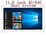 11,6 Pulgadas Teclast tbook 16pro Dual OS Tablet Cherry Trail Z8300 Quad Core Win10 + Android 5.1 4GB + 64GB HDMI