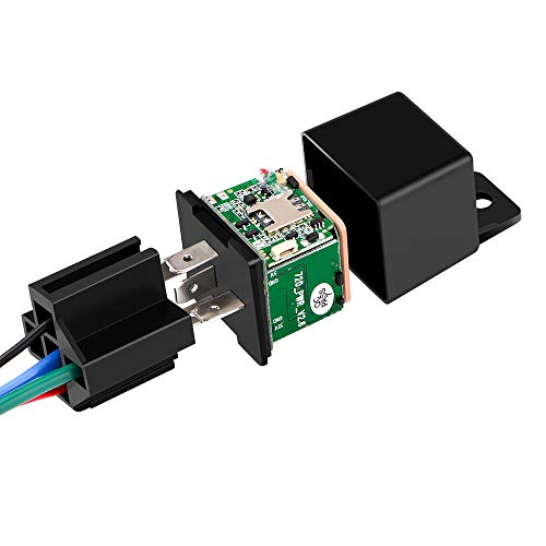 GPS-Relais GPS Tracker Auto Schock Alarm GPS GSM Ortungsgerät Fernbedienung Anti-Diebstahl Überwachung Abschaltung Kraftstoffstrom