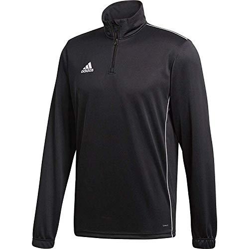 Adidas CE9026 Core18 – Maglia a maniche lunghe, Uomo, Nero/Bianco, XL