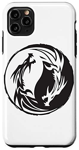 iPhone 11 Pro Max Chinese Dragon Yin Yang Kanji Japanese Asian Traditional Case