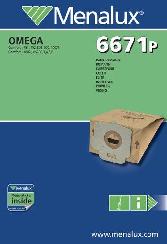 Menalux 6671 P, 10 Staubbeutel