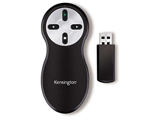 Kensington K33373EU - Presentador Inalámbrico Sin-Laser y con Usb, Compatible con Windows y Macos - Rango 20 m