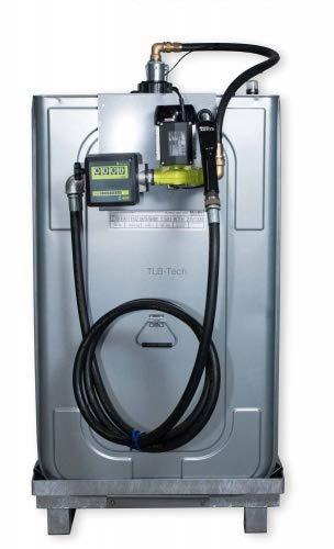 Hoftankstelle - SYSTEM - Horn - 1000 Liter - Dieseltankanlage Dieseltank Tankanlage Zählwerk Analoges Zählwerk