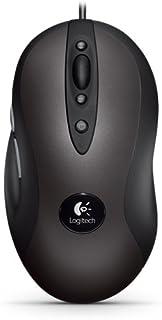 Logitech G400 - Ratón óptico para Videojuegos de Ordenador, Color Negro/Gris