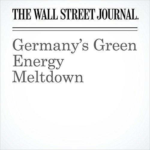 Germany's Green Energy Meltdown copertina