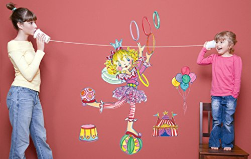 Wandtattoo Prinzessin Lillifee balanciert (47x35cm)