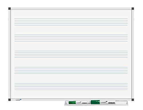 Legamaster 7-101935 Whiteboard Premium Notenlinien, 60 x 45 cm