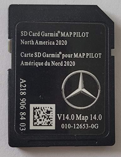 Navigation SD Card Mercedes STAR1 North America V14 2020 A2189068403