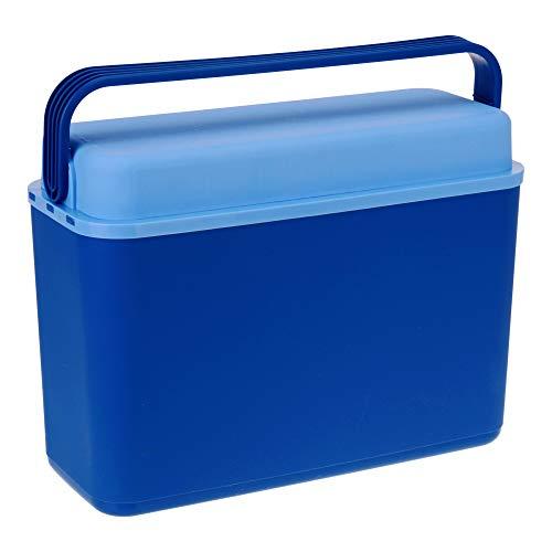 ToCi koelbox 12 liter, compacte en handige mini-koelbox, blauw, 40x17x30cm