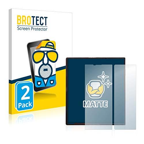 BROTECT Protector Pantalla Anti-Reflejos Compatible con Huawei Mate XS (2 Unidades) Pelicula Mate Anti-Huellas