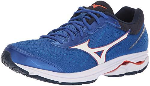 Mizuno Wave Rider 22 Running Shoe, Zapatillas para Correr Hombre, Tomates náuticos Azules de Cereza, 39 EU