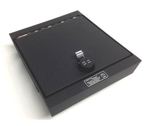 Lock'er Down Console Safe with 4 Digit Combo Lock for 2007 - 2013 Sierra and Silverado with split bench seat