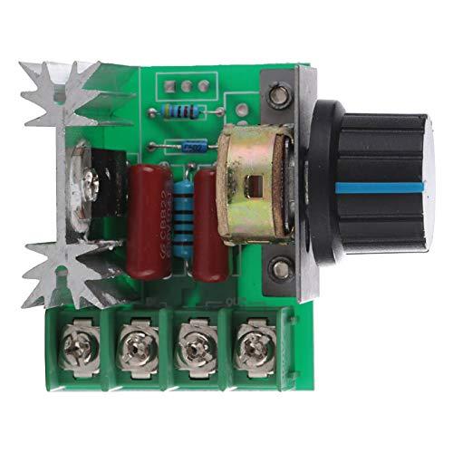 Controlador de velocidad de tiristor Controlador de velocidad de motor ajustable Controlador de potencia de CA 220V seguro duradero confiable para equipos eléctricos