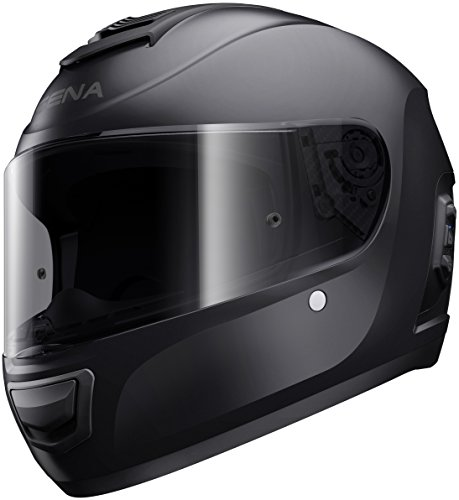 Momentum Lite, Bluetooth Helmet, Full Face, Matt Black, L size, ECE
