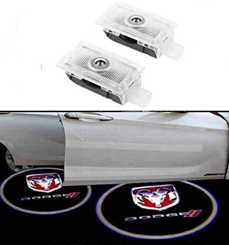 Sunshine Fly 2 Stück LED Autotür Türbeleuchtung Logo KFZ Türen Einstiegsbeleuchtung Projektor Willkommen Door Projektion Türlicht Einstiegsleuchte Logo Lampe