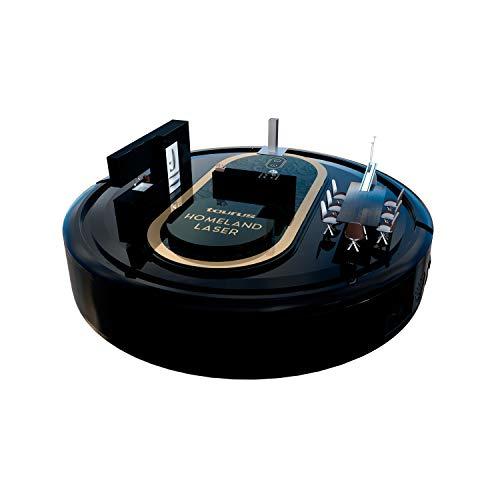 Taurus Homeland Laser, La Elegancia Hecha Robot Aspirador, Aspira, Pasa la Mopa y Friega, Tecnología Elegantlaser, Navegación Inteligente, 2300 Pa, 10 Modos, Programable, App, Alexa & Google Assistant