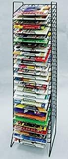 Scrapbook Paper Rack Tower Black Organizer Storage Display 30-slot -12