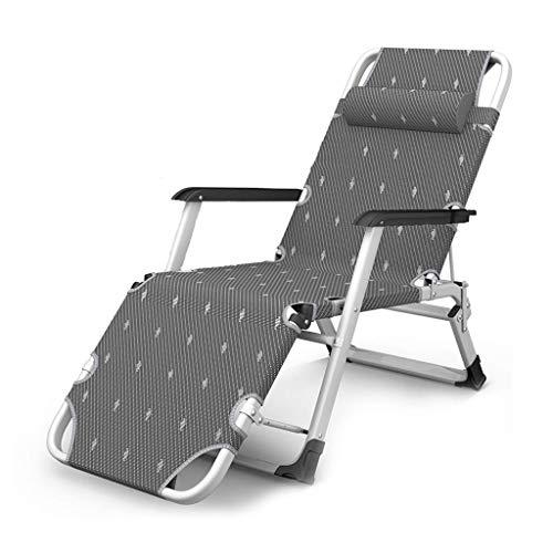 Outdoor Lazy Reclining Pool Sun Lounger Chair, Zero Gravity Foldable Deck Relaxer Recliner Rocking Chair Adjustable Backrest For Garden Furniture Patio Beach, 200 Kg Load, LATT LIV