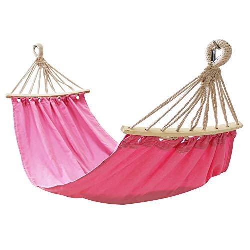 WENCY met opbergtas voor kinderen hangstoel anti-rollover design textiel kan gedemonteerd en gewassen worden, voor tuin, terras en huis (roze/blauw), roze
