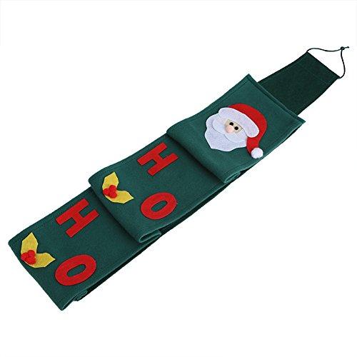 Eboxer Santa rol papier tissue cover hangende houder wc badkamer Kerstmis