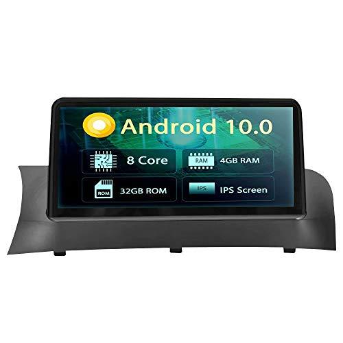 ROADYAKO 10,1 Pouces Android 8.1 Auto Radio pour BMW X3 F25 X4 F26 2014 2015 2016 Radio de Voiture CD stéréo Navigation GPS 3G WiFi Mirrorlink RDS FM AM Bluetooth No DVD