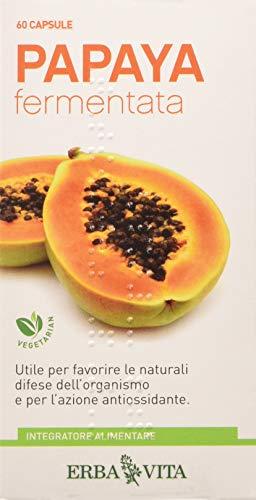 Erba Vita Integratore Alimentare Papaya Fermentata - 60 Capsule Blister