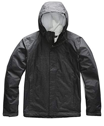 The North Face Men's Venture 2 Jacket, TNF Dark Grey Heather, Large