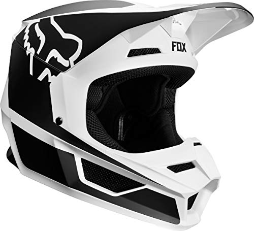 Helmet Fox Junior V-1 Przm Black/White Ym