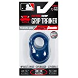 Franklin Sports Baseball Bat Swing Trainer - Gator Grip Grip Trainer - Baseball and Softball Hitting Aid - Knuckle Aligner and Swing Trainer - Navy