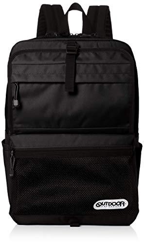 [アウトドアプロダクツ] リュック 2フェイス ボックス 大容量 PC収納 A4収納 隠しポケット ブラック1 One Size