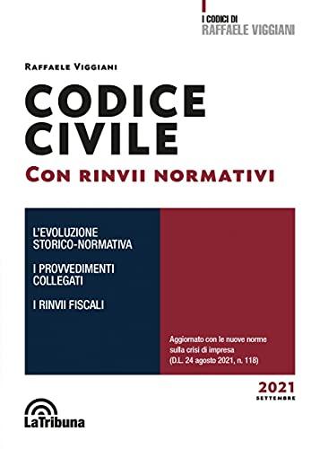 Codice civile con rinvii normativi 2021