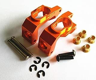 CrazyRacer HPI BULLET3.0 MT ST KEN BLOCK WR8 FLUX Upgrade Parts Aluminum Alloy Front C HUB Carriers-1PR SET For 101209 Orange