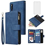 Asuwish Compatible with Samsung Galaxy A70 Wallet Case