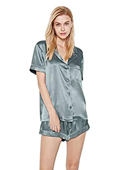 Best silk pajama short set Reviews