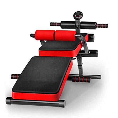 UWY - Standard-Hantelbänke für Krafttraining in Red, Größe 144cm*35cm*70cm