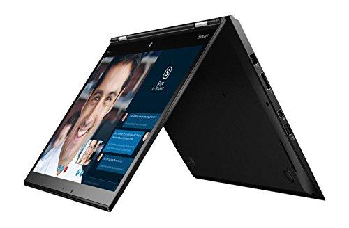 Lenovo 20FQ0040GE Laptop Ultrabook (Intel Core i7, 512GB Festplatte, 8GB RAM, Intel HD Graphics 520, Win 10 Pro) schwarz