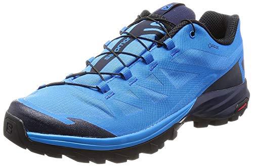Salomon Herren Outpath GTX Trekking-& Wanderhalbschuhe, Blau (Indigo Bunting/Navy Blazer/Black 645), 43 1/3 EU