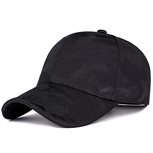 xiwei Gorra de Beisbol Gorra de béisbol de Camuflaje Militar Unisex Ajustable de Moda Gorras de Pico Hombres y Mujeres Sombrero Informal del Desierto Sombreros Salvajes de Sombra Chapeau ordinaire