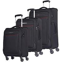 3 Piece Verage Softshell Lightweight & Durable Suitcase with Spinner Wheels