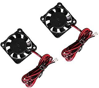 DC borstelloze koelventilator 24 V, 40 mm x 40 mm x 10 mm 3D-printerventilator 4010 DC axiale ventilator, mini stille koel...
